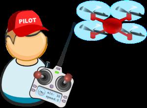 Pilote de drones